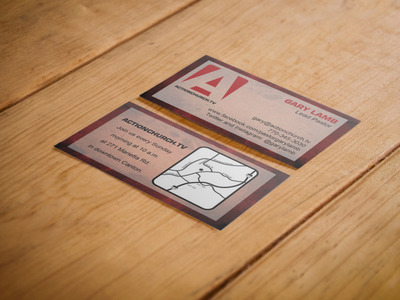 Action Church Business Cards