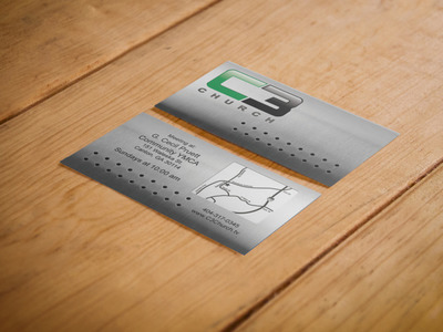 C3 Church Invite Card